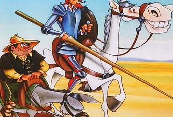 Botones Don Quijote Y Sancho - Banda Sonora Original De