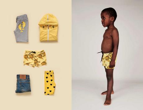 mini rodini, moda infantil para el verano