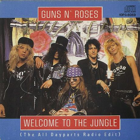 El single de los lunes: Welcome To The Jungle (Guns N' Roses) 1987