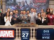 Avengers tocan campana Wall Street