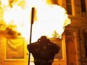 Baltimore: protesta llamas