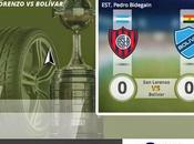 vivo Sports Bolivar vs.San Lorenzo Semifinales Copa Libertadores