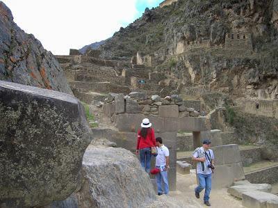 Templo de las diez ventanas, Ollantaytambo, Perú, La vuelta al mundo de Asun y Ricardo, round the world, mundoporlibre.com