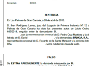 Nueva sentencia conseguida nuestros abogados Canarias consiguiendo nulidad devolución cantidades