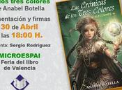 Presentación crónicas tres colores Fira llibre Valencia 2015