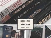 Book Haul Abril 2015.