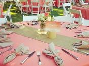 Ideas para decorar boda color coral