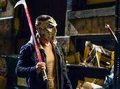 Ninja turtles nuevo vistazo oficial stephen amell como casey jones mascara palo hockey