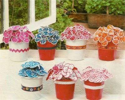 Manualidades con macetas para decorar en casa paperblog - Como decorar macetas de barro ...