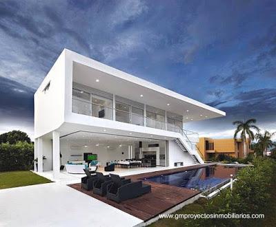 Casas modernas y contempor neas en colombia paperblog for Casa holandesa moderna
