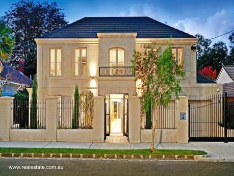 32 im genes de fachadas de casas modernas paperblog - Fotos de la casa blanca por fuera ...