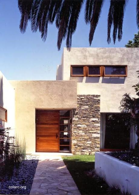 Fachadas de piedra modernas excellent resultado de imagen for Fachadas de casas modernas con piedra