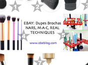 Descubrimientos ebay Dupes Brochas NARS, M·A·C, REAL TECHNIQUES