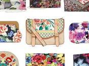 Bolsos floral print
