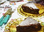 Tarta chocolate dátiles nueces
