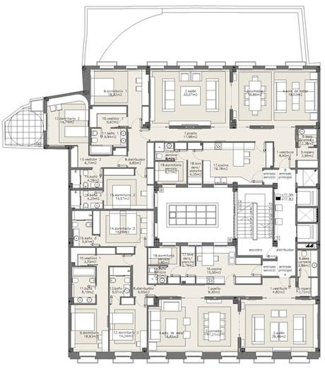 Edificio De Apartamentos Reformado Por A Cero En Madrid