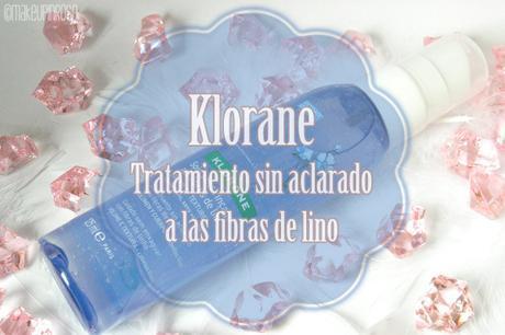 TRATAMIENTO SIN ACLARADO A LAS FIBRAS DE LINO KLORANE