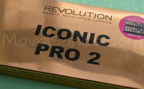 ICONIC PRO 2 de MAKEUP REVOLUTION