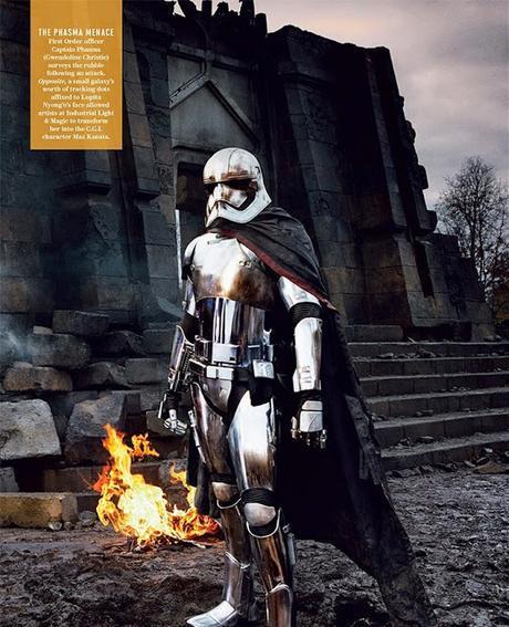 Star Wars: The Force Awakens en Vanity Fair (fotos y vídeo)