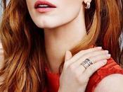 Jessica Chastain brilla joyería Piaget