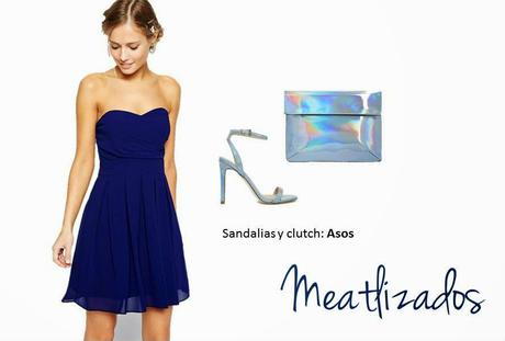 Zapatos para vestido azul navy