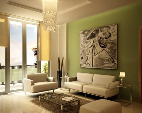 3 tips para elegir el color de tu sala paperblog for Pintar comedor dos colores