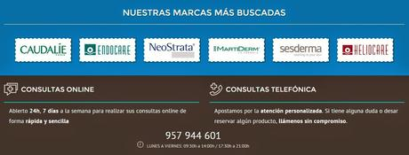 Nueva web Farmacia Barata & Comodynes Hydra Tanning
