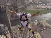 Espectacular salto base desde rascacielos Dubai
