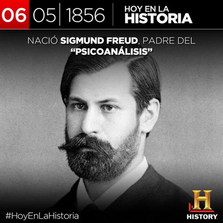 Sigmund Freud nace el 6 de mayo de 1856