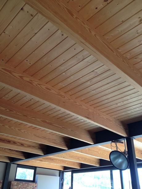 Techo de madera paperblog for Tejados de madera leroy merlin