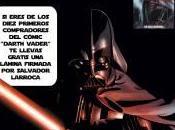 """Presentación cómic """"Darth Vader"""" Salvador Larroca"""