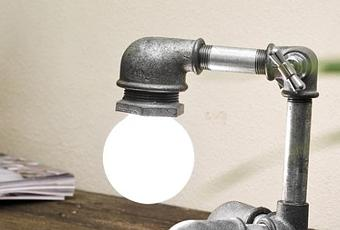 Fabrica tu l mpara industrial diy paperblog - Fabrica tu lampara ...