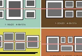 Como colocar un conjunto de cuadros paperblog - Como colocar los cuadros ...