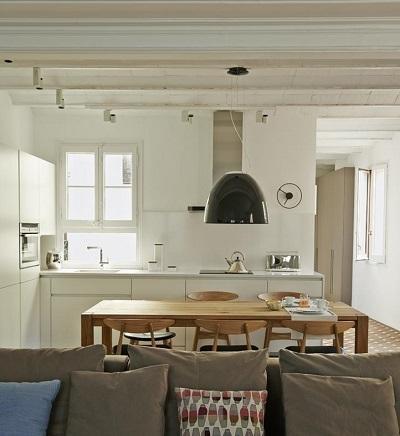 C mo separar la cocina del sal n visualmente paperblog for Cocina unida al salon