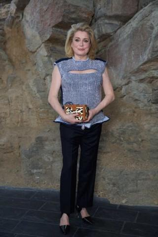 Deneuve in Louis Vuitton Crucero