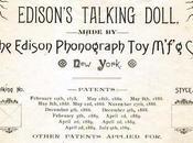 Muñecas parlantes, proyecto poco conocido Thomas Alva Edison