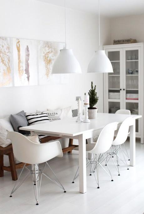 bancos para las mesas de comedor combinados con sillas decoidea a tener muy en