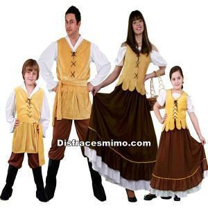 disfraces medievales y de época para carnaval