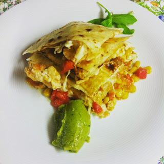 Quesadillas De Pollo Y Maíz (Sincronizadas)
