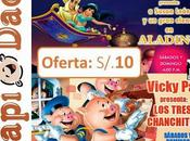 "#Teatro #Oferta ""Aladino"" ""Los Chanchitos"""