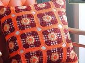 Cojines tejidos crochet gráficos para imprimir