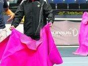Partido exhibición entre toreros tenistas favor Fundación Laureus