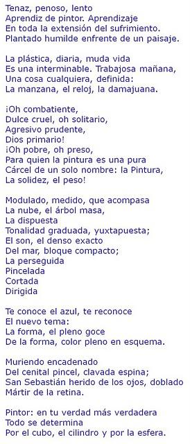Poemas Futuristas Cubistas Creacionistas Poesia Visual Poema Ajilbab