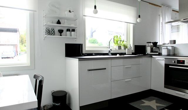 Cocina en blanco y negro paperblog for Cocinas en blanco y negro