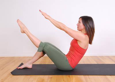 Ejercicio Pilates: Teaser o Bromista