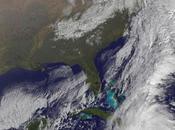 Imagen satélite huracán Tomás sobre Haití