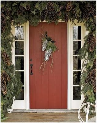 Ideas para Decorar la Puerta en Navidad