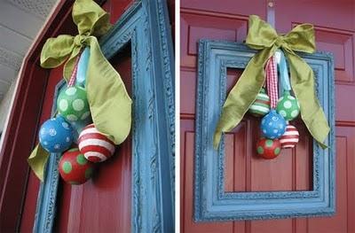 Decorar la Puerta en Navidad