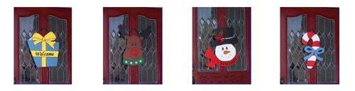 Decoracion para Puertas en Navidad