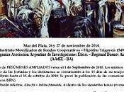 Jornadas Nacionales Agora Philosophica Coloquio Hermenéutica Plata Buenos Aires noviembre